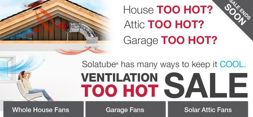 Solatube Ventilation Sale